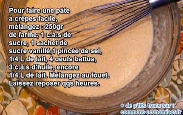 Comment faire des crêpes : comment réussir sa pâte à crêpes ?